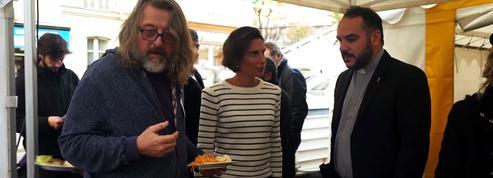 La cantine : Alessandra Sublet s'invite à la cantine du tournage de Neuilly sa mère, sa mère !