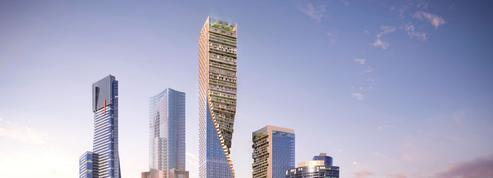 Ce gratte-ciel en tire-bouchon devrait devenir la plus haute tour d'Australie
