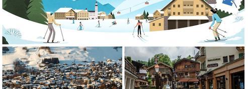 (Re)découvrez Megève, la station de ski aux 40.000 lits