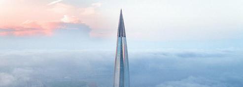 En Russie, le plus haut gratte-ciel d'Europe est quasiment achevé