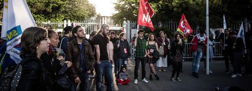 Blocages à l'université de Nanterre: sursis et prison ferme requis contre trois manifestants