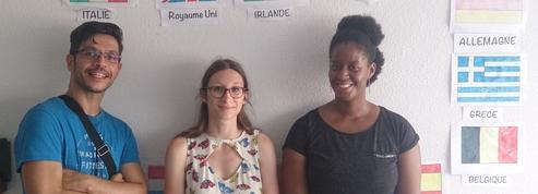 Erasmus days : Marine fait découvrir l'Europe aux enfants de Bordeaux