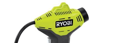 Nos essais : gonfleur haute pression RYOBI - R18PI-O, un petit coup de pompe?