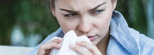 Pourquoi notre nez coule en hiver?