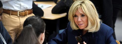 Pour Brigitte Macron, parler du harcèlement scolaire, «maintenant c'est possible»