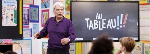 Bernard Tapie dans Au tableau! : «Les enfants m'ont donné de l'espoir»