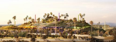 Une colline habitée «écolo», le projet de Jean Nouvel pour Sophia Antipolis
