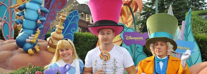 Les stars télé à Disneyland Paris : 25 ans en 25 photos