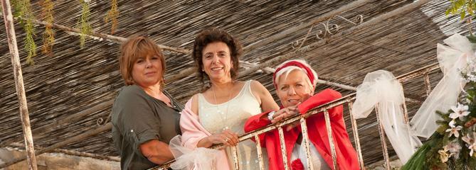Mimie Mathy veut reformer le trio des Filles