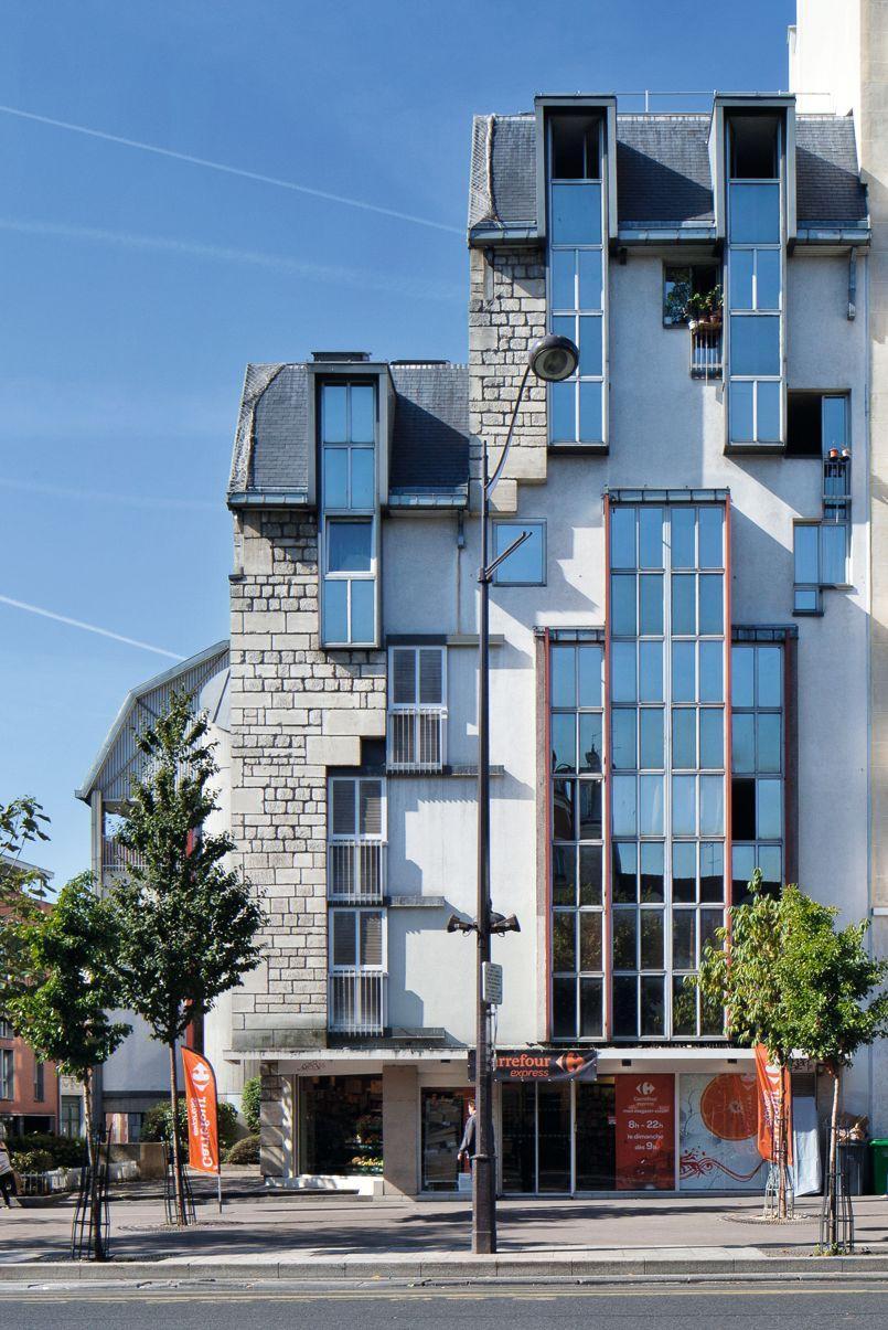 Re visitez paris travers ces dix fa ades d immeubles for Maison atypique definition