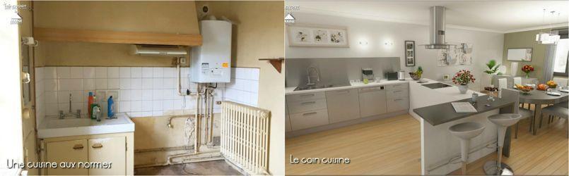 Avant apr s la formidable transformation d une maison for Maison renovee avant apres