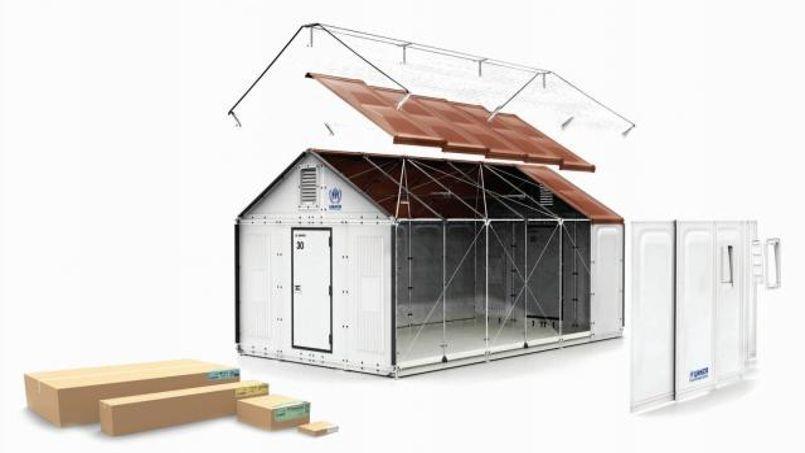 ikea lance la production de abris en kit pour les
