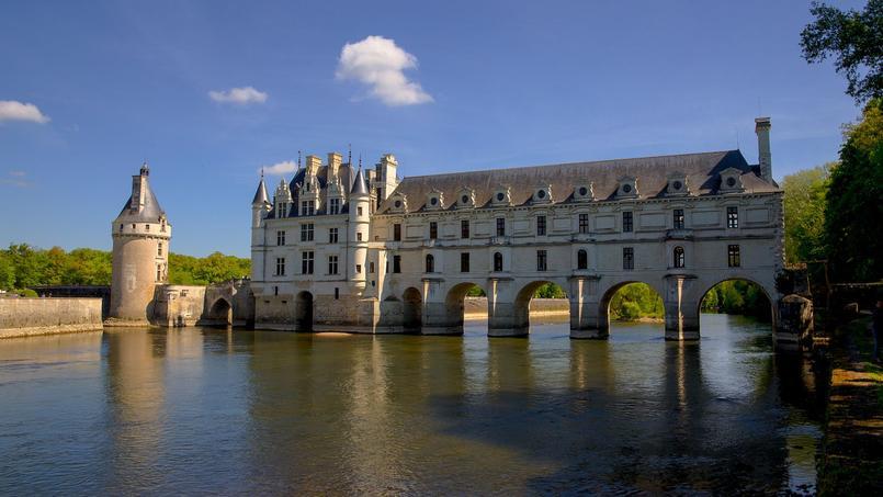 Le château de Chenonceau. (Naturellement, il ne figure pas dans notre quiz!!!) Crédit: Étienne Valois.