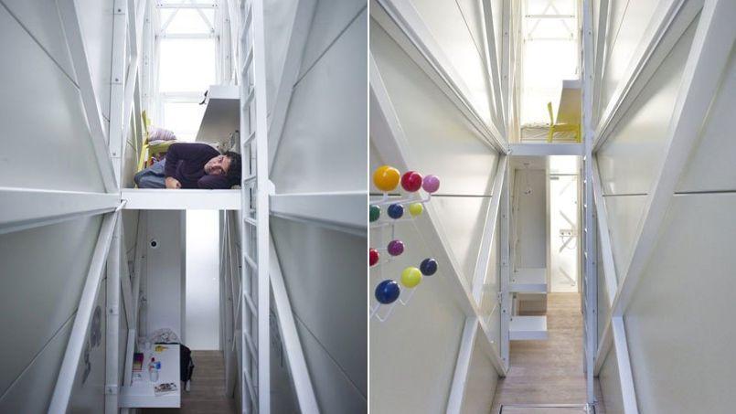 cette maison de ville mesure 152 centim tres de largeur. Black Bedroom Furniture Sets. Home Design Ideas
