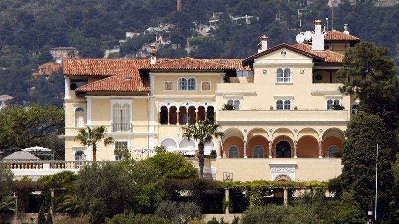 Maryland villa, belonging to Microsoft co-founder Paul Allen, is seen in Saint Jean Cap Ferrat, southeastern France