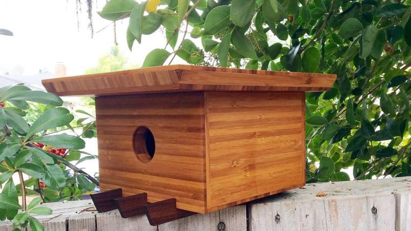 Ces cabanes oiseaux sont presque de vraies maisons - Cabane de jardin pour fille boulogne billancourt ...