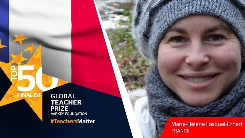 Une prof de Nantes parmi les meilleurs enseignants du monde