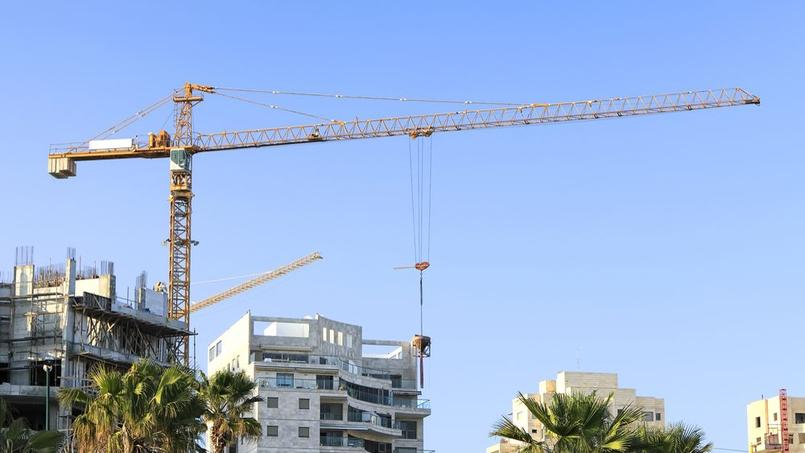 Un chantier en Israël. Crédit: Protasov AN/Shutterstock.com