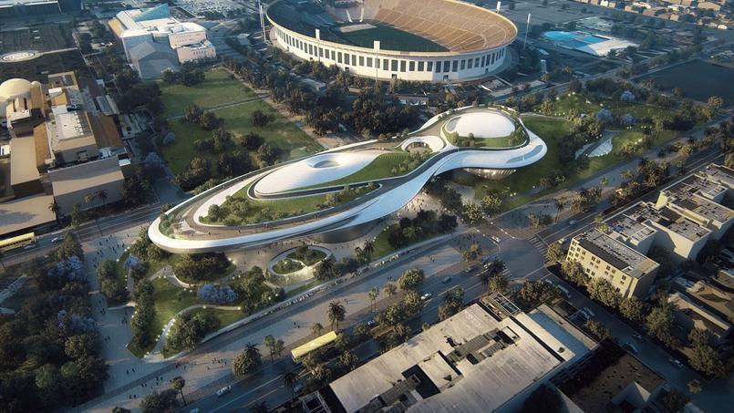 Le musée s'installera à côté du stade du Colisée.