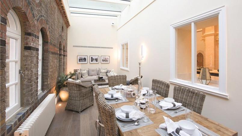 Londres cette chapelle de luxe est vendre pour 7 millions d euros - Immobilier londres achat ...