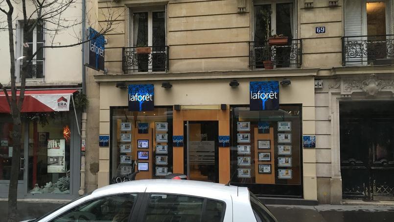 Une agence Laforêt, photo d'illustration.