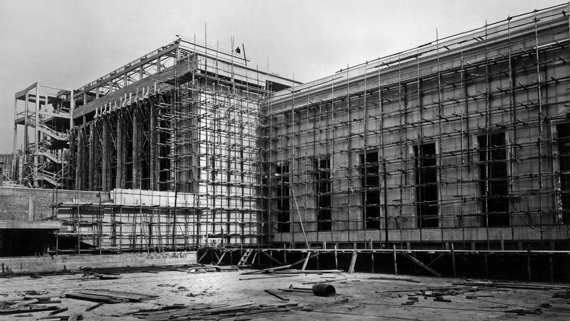 Construction du Palais de Chaillot