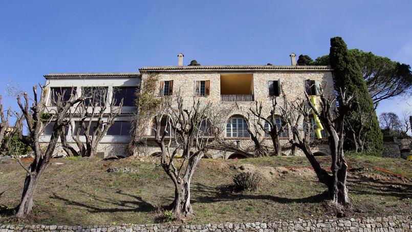 Photo de la villa prise en 2008.