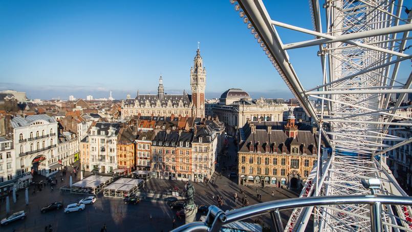 À Lille, les prix ont diminué de 0,8% en janvier.