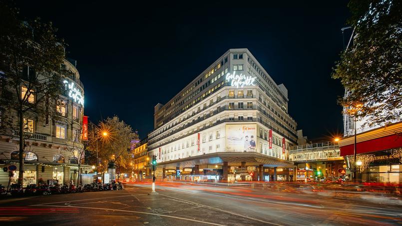 Le quartier des grands magasins, dans le IXe arrondissement de Paris