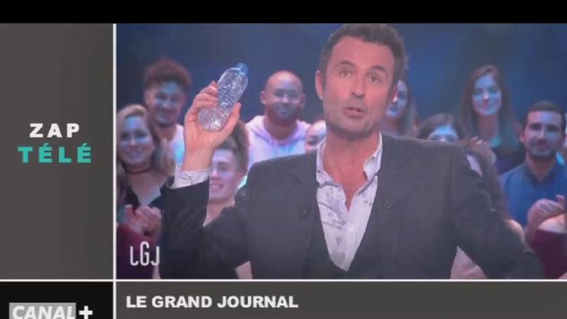 Zapping TV : Bataille d'eau au Grand Journal