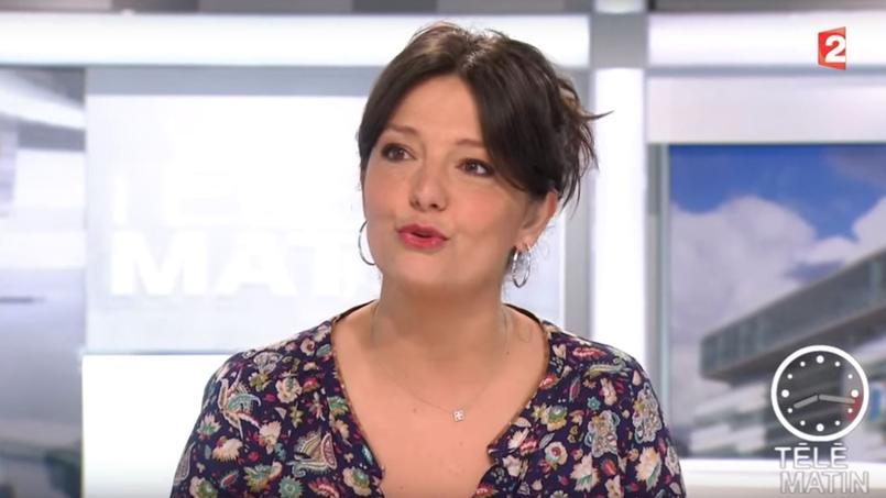 Carinne Teyssandier est également chroniqueuse dans  Télématin.