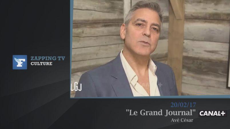 Zapping TV : L'hilarante bande-annonce de George Clooney pour les César