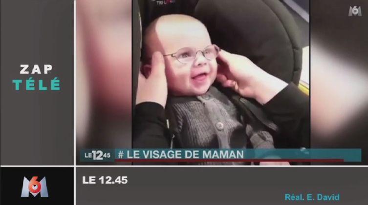 Zapping TV : L'émouvant réaction d'un bébé malvoyant voyant sa mère pour la première fois