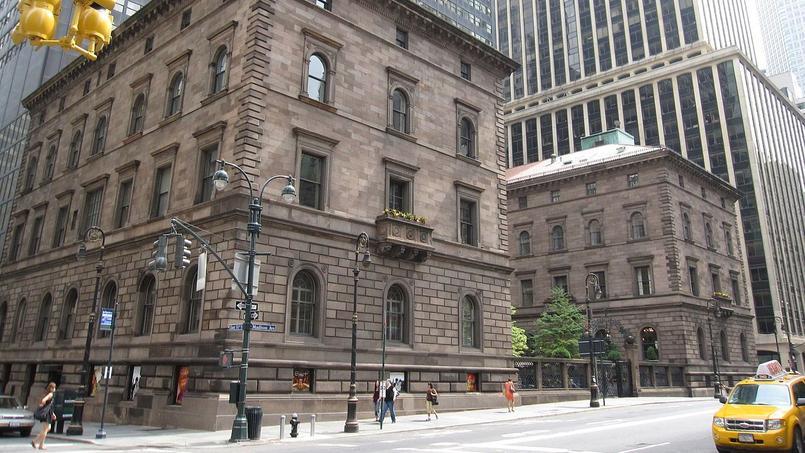Les Villard Houses dont l'Archidiocèse de New York possède le terrain.