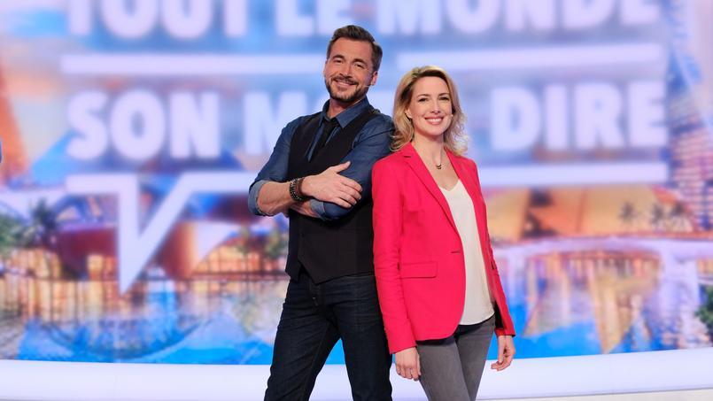 Olivier Minne et Sidonie Bonnec coprésentent  Tout le monde a son mot à dire en lieu et place d' AcTualiTy, sur France 2