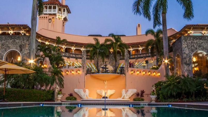 La résidence de Donald Trump à Mar-a-Lago, en Floride