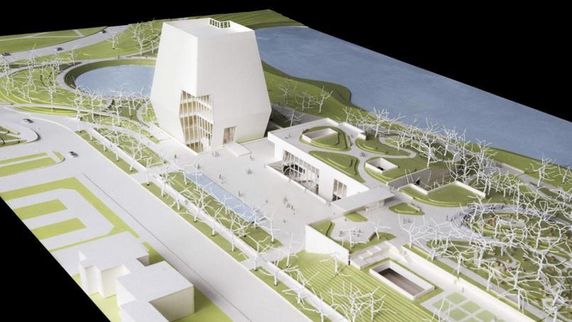 Le projet de bibliothèque présidentielle présenté par Barack Obama.