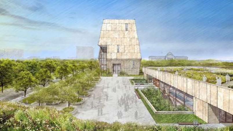 Conceptual Vision for Design of Obama Presidential Center in Chicago