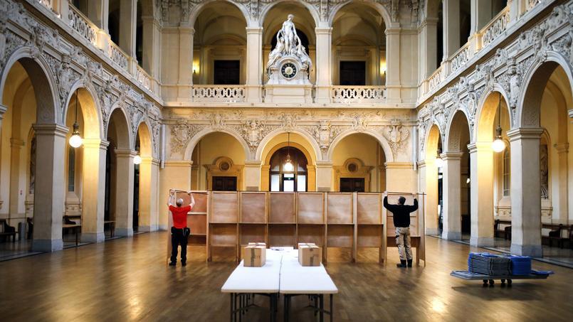 Un cadre privilégié à la mairie de Lyon.