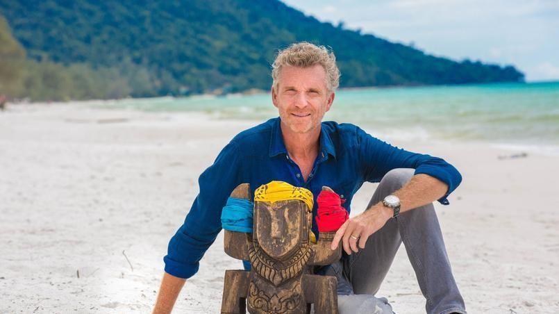 Denis Brogniart dans Koh-Lanta