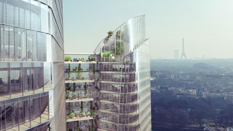 Assez Groupama veut construire la tour la plus haute de France VE67