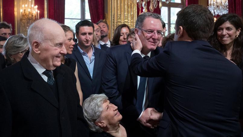 Richard Ferrand (au centre) sera en charge de la Cohésion des territoires