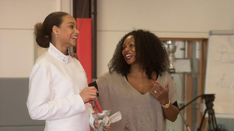 Alicia Aylies, Miss France 2017, complice avec Laura Flessel, nommée ministre des sports.