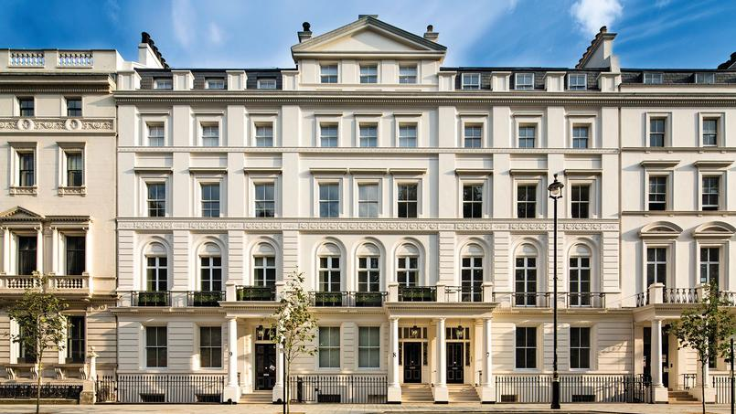 Les appartements des immeubles sur Buckingham Gate