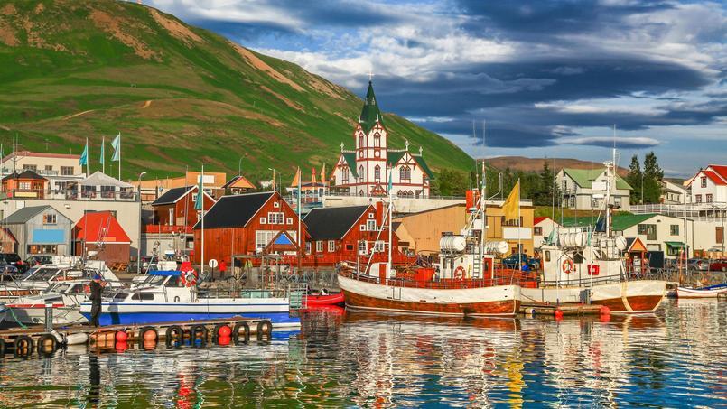 C'est en Islande (ici une vue de la ville historique de Husavik) que les prix ont le plus augmenté cette année.