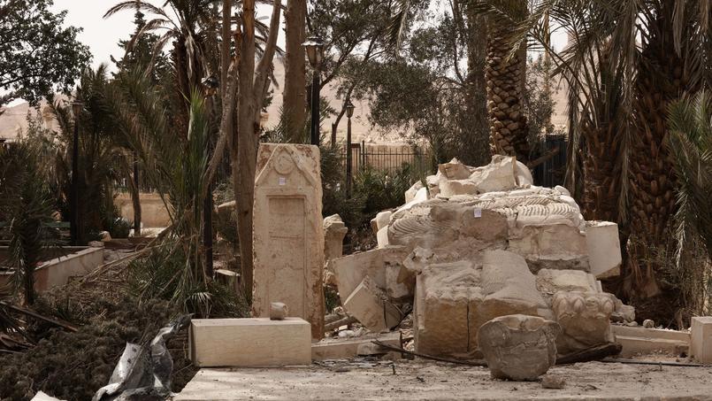 Parmi les cessions programmées par la Direction immobilière de l'État en 2016, un terrain situé à Palmyre, en Syrie