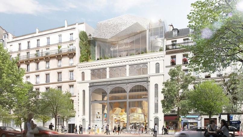 Le projet Étoile Voltaire, lauréat de l'opération qui devait réinventer la sous-station Voltaire dans le 11e arrondissement.