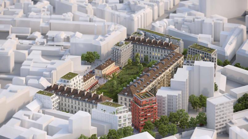Le nouveau quartier de la caserne de Reuilly doit voir le jour fin 2020