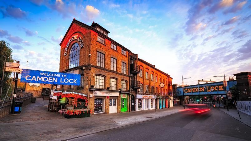 Les images du feu qui a ravagé Camden Lock — Incendie Londres