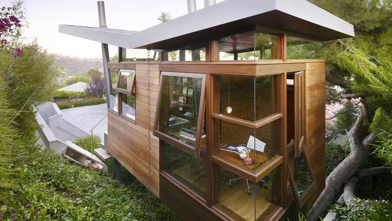 Ces cabanes perchées qu'on aimerait avoir dans son jardin